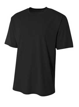 A4 Adult Sprint Polyester Short Sleeve 3.5 Ounce Performance Tee