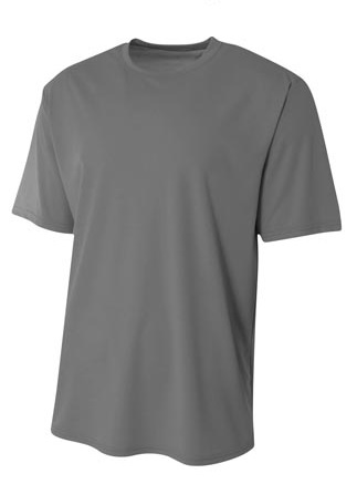 A4 Youth  Sprint Polyester Short Sleeve Performance Tee
