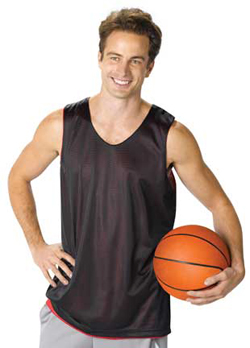 A4 Adult 3.4 Ounce Poly Reversible Basketball Jersey