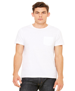 Bella+Canvas Men's 4.2 Ounce Jersey Short Sleeve Pocket T-Shirt