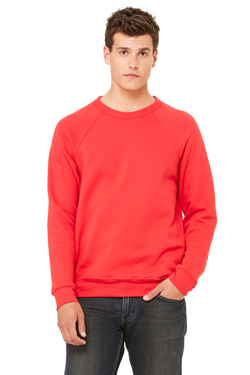 Bella+Canvas Unisex 6.5 Ounce Sponge Fleece Crew Neck Sweatshirt