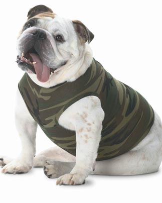 Doggie Skins Baby Rib Tank for Dogs by LAT Apparel.