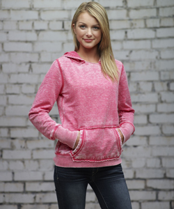 J-America Ladies 7.0 Ounce Zen Hooded Pullover