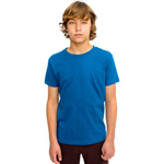 American Apparel Organic Youth Fine Jersey Short Sleeve T-Shirt.