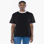 American Apparel Unisex Heavy Jersey Athletic Box T-shirt.