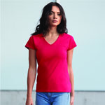 Anvil® Ladies Lightweight Fitted V-Neck T-Shirt