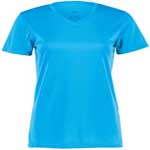 Augusta Ladies Poly Short Sleeve Wicking T-Shirt