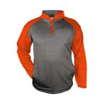 Badger Sport Heather Fleece 1/4 Zip