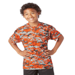 Badger B-Dri Youth 3.5 ounce Digital Camouflage Tees