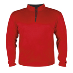 Badger Adult B-Core 1/4 Zip Shirt.