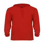 Badger Adult B-Core Long Sleeve Hooded Tee.