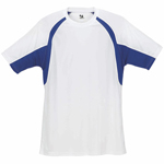 Badger 3.5 Ounce Adult B-Core Short Sleeve Two-Tone Hook Tee