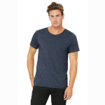 Bella Adult Raw Neck Tee