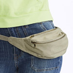 Comfort Colors Canvas Belt Bag                            *SHIPS in 2 to 4 BUSINESS DAYS