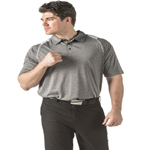 Dunbrooke Mens 4.0 Ounce Mystic Heather Polo
