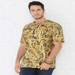 Code Five™ Men's 100% Cotton Licensed Lynch Since 1940™ Camouflage Crew Neck Short Sleeve Tee.