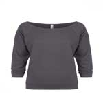 Next Level Ladies 4.9 Ounce French Terry 3/4 Raglan Sleeve T-Shirt