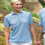 24/7 Ladies 5.0 Ounce Poly/Cotton Baby Piquè Performance Polo