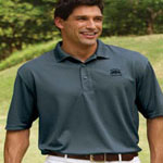 Willowtec Men's 5.5 Ounce Performance Baby Pique Polo
