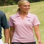 Willowtec Ladies 5.5 Ounce Willowtec Performance Baby Pique Polo