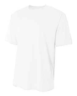 A4 Youth 3.5 Ounce Polyester Marathon T-Shirt