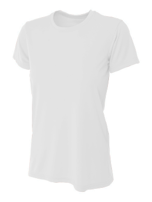 A4 Ladies 4.0 Ounce Poly Performance Short Sleeve T-Shirt