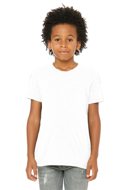 Bella+Canvas Youth 3.8 Ounce Triblend Short Sleeve T-Shirt