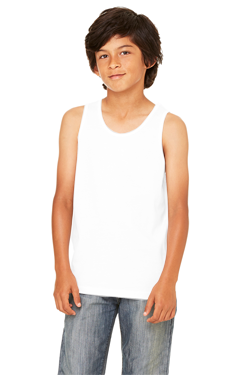 Bella+Canvas Youth 4.2 Ounce Jersey Tank