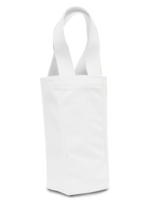 Liberty Bags 10 Ounce Single Bottle Wine Tote