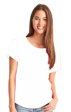 Next Level Ladies 4.0 Ounce Ideal Dolman T-Shirt