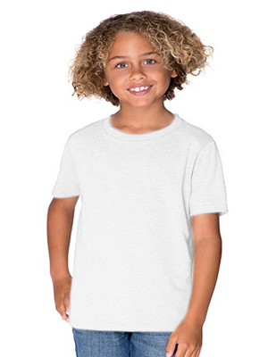 Next Level Boy's 4.3 Ounce CVC Crewneck T-Shirt