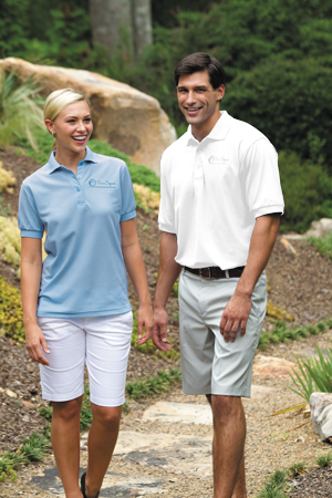 24/7 Mens 5.0 Ounce Poly/Cotton Baby Piquè Performance Polo